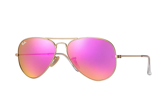 Ray Ban | Aviator Flash Lenses 112/4T | משקפי שמש טייסים