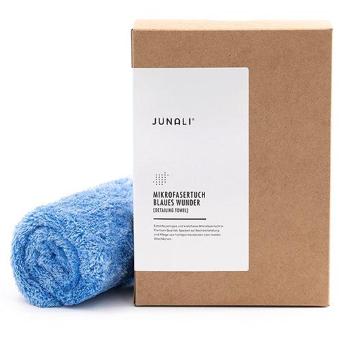 JUNALI® Mikrofasertuch Blaues Wunder
