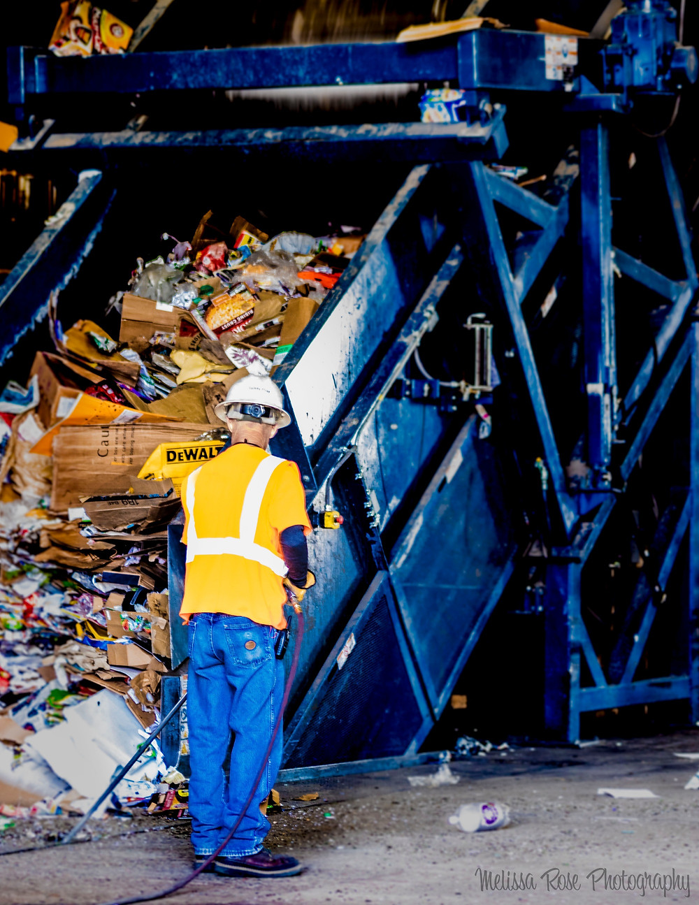 Recycle sorting equipment Colorado Springs Material Recovery Facility