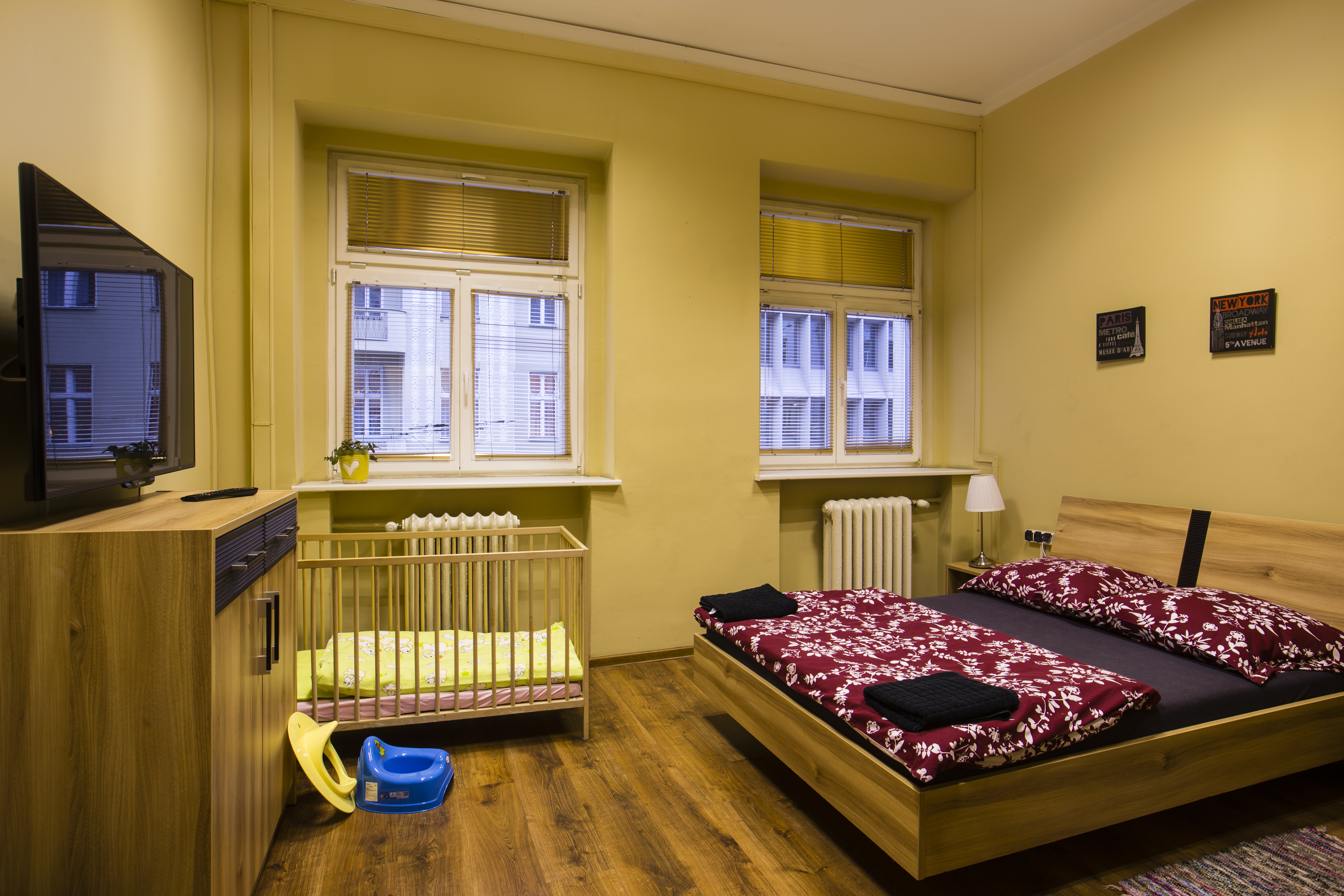 Pokój 2 osobowy z łóżkiem małżeńskim