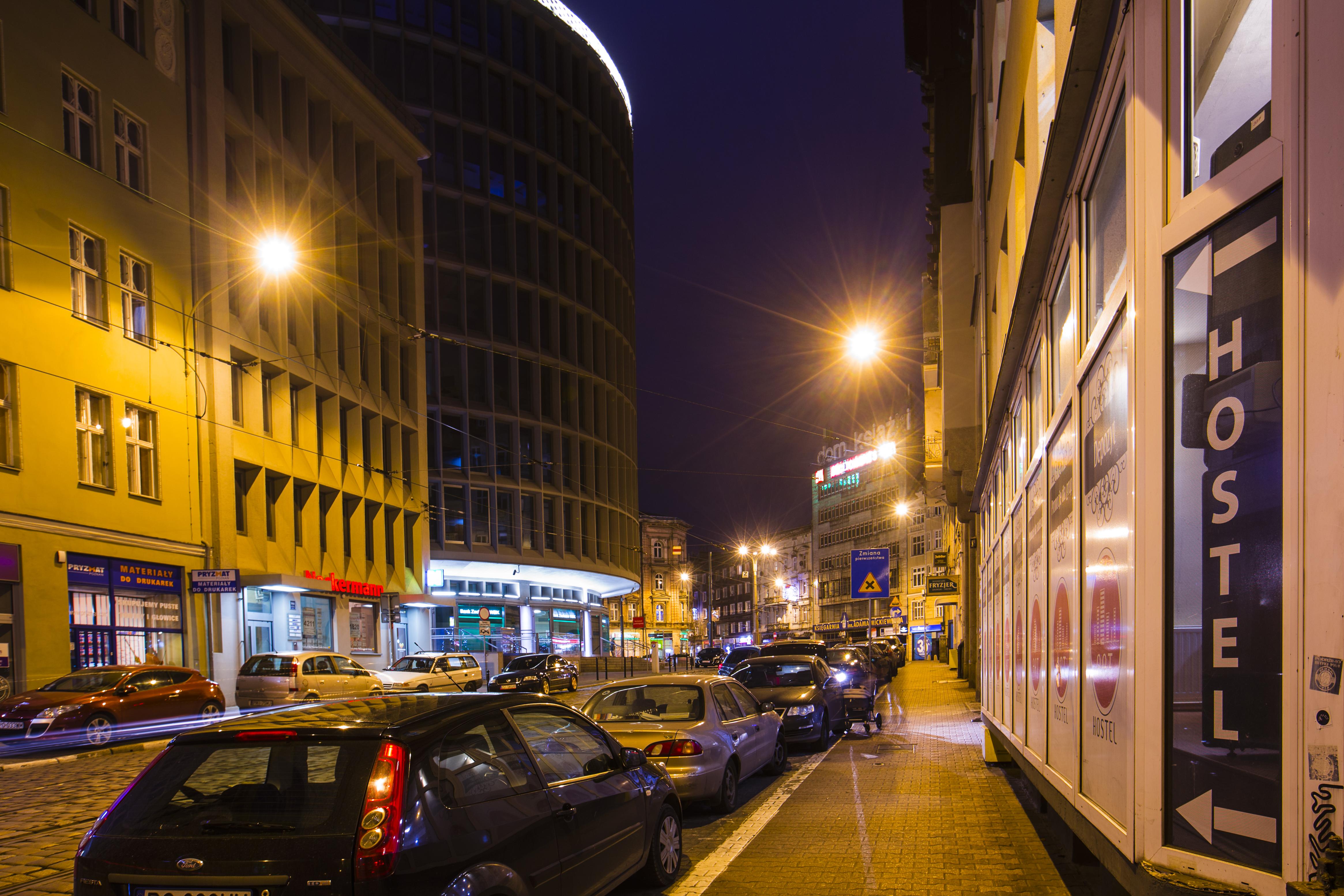 ART Hostel Poznań z zewnątrz