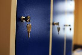 Szafka Metalowa zamykana na kluczyk
