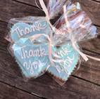 Danville Bakery Thank You cookies.