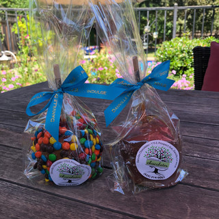 Danville Chocolates candy apples.