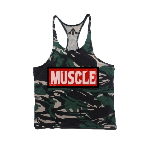 CAMO RED LABEL STRING TANK