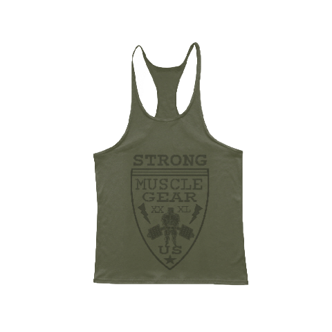 ARMY BADGE STRING TANK
