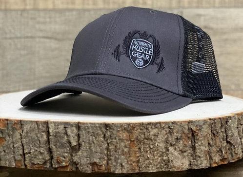 CREST LOGO TRUCKER HAT