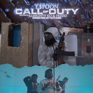 """NEW VIDEO: T.$poon """"COD"""" (Call oF Duty) ft. Almight KO, Fr3do"""