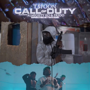 "NEW VIDEO: T.$poon ""COD"" (Call oF Duty) ft. Almight KO, Fr3do"
