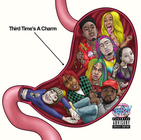 "STREAM BARZ! ""Third Time's A Charm"" project"