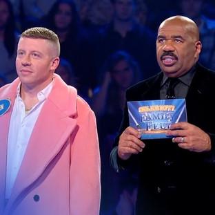 NEWS:Team Macklemore wins Fast Money! | Celebrity Family Feud