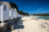 cabanes de plage bois de la chaise