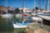 le port de Noirmoutier en l'ile