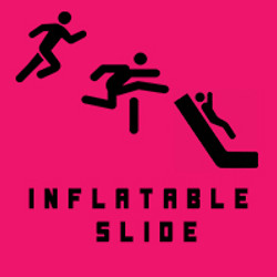 inflatable slide ICON