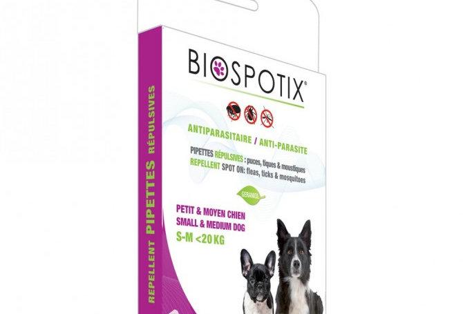 Biospotix - pipetas naturais