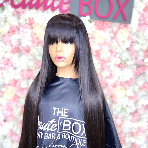 Custom Lace Closure BANG Unit