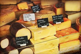 Kaas op de markt