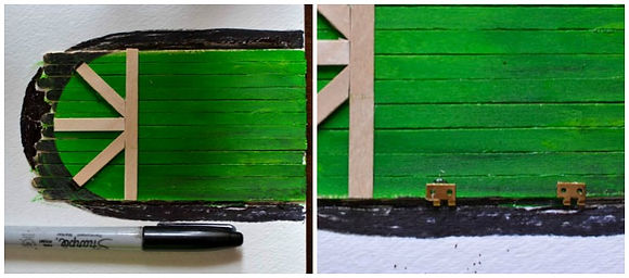 DIY-make-a-fairy-door-from-craft-sticks-