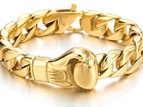 Golden Glove Bracelet