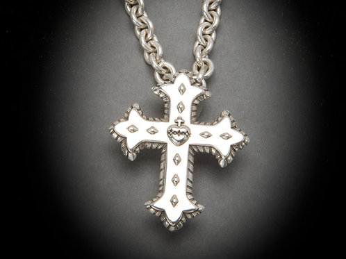 Small Sacred Heart Cross