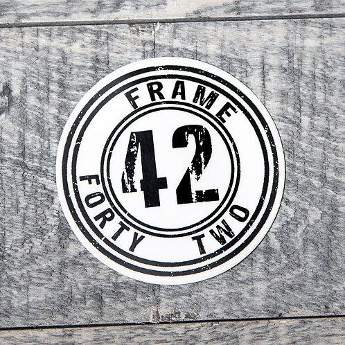 Frame 42 Sticker