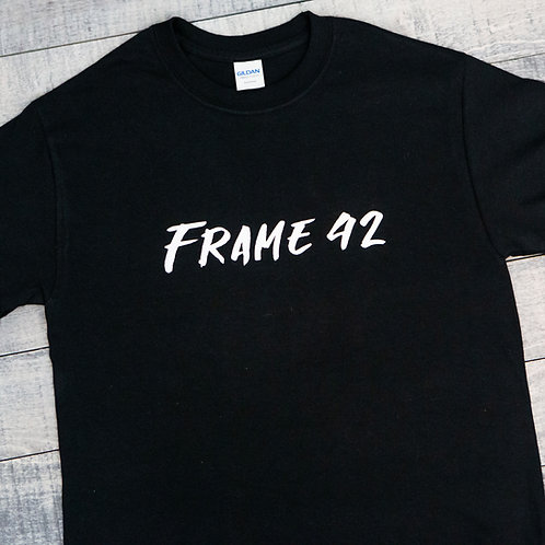 Frame 42 Text Logo T-Shirt