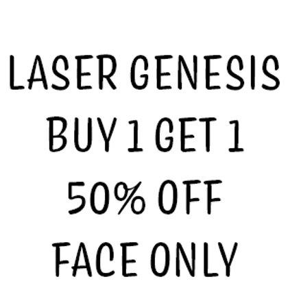 Laser Genesis Face Only - Buy 1 Get 1 50% OFF