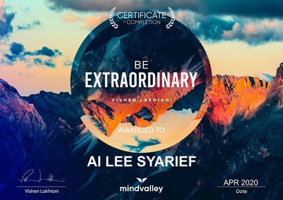 Mindvalley - Be Extraordinary