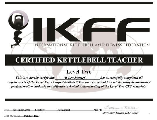 Certified Kettlebell Teacher
