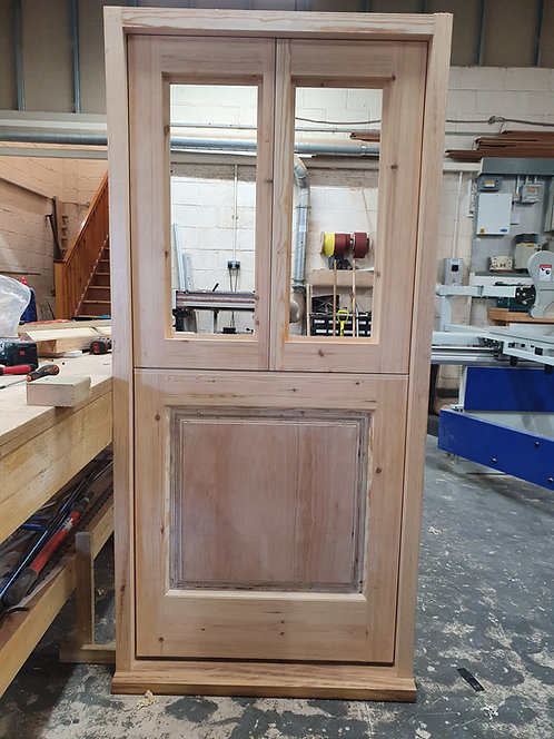 Traditional 3 part gypsy wagon door