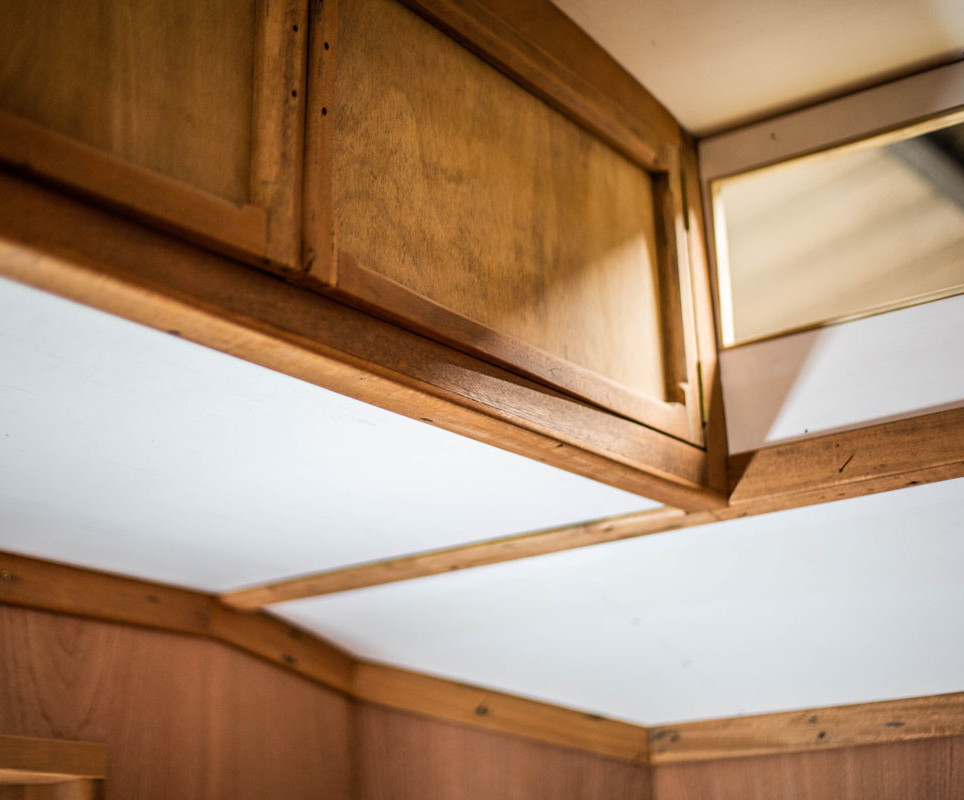 clean and crisp ceiling