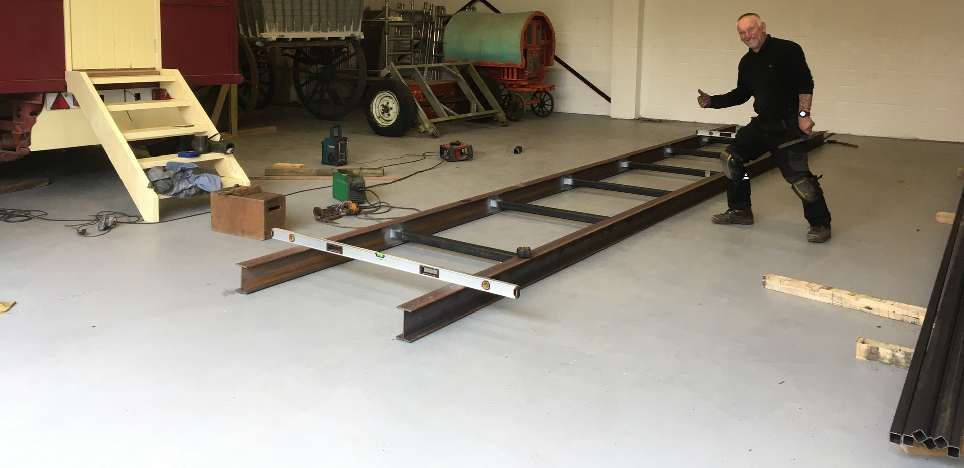 Hand made chassis