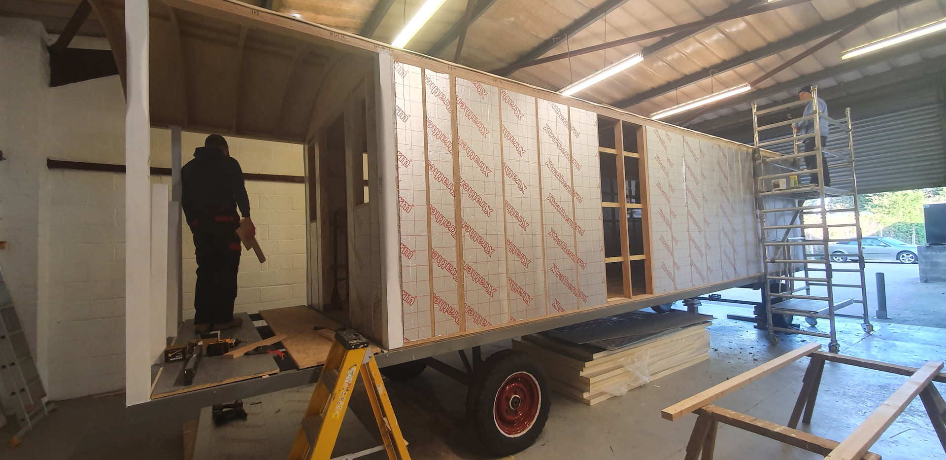 fully insulated walls
