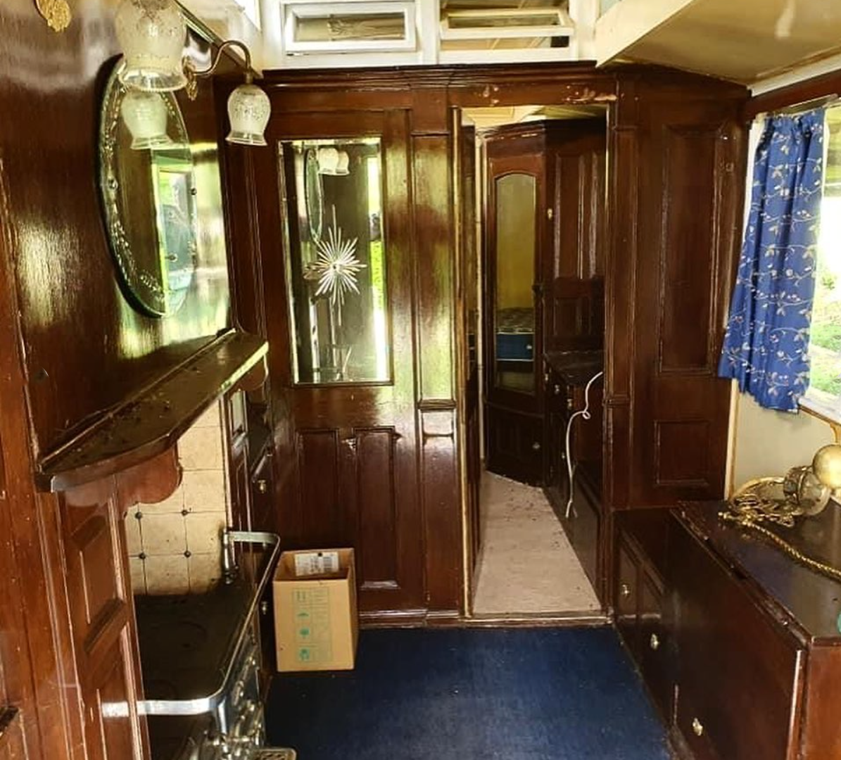 Interior of Wagon