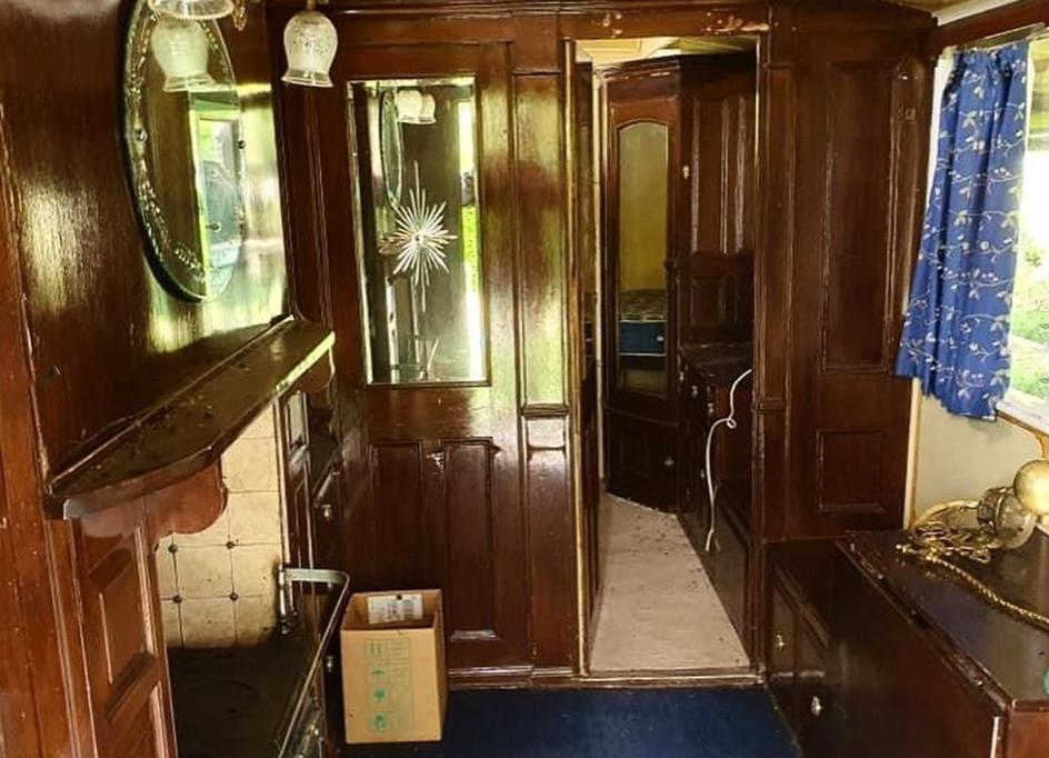 Interior of Wagon