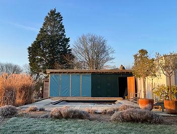 Construction of The Yoga Pool Studio in Wareham, Dorset