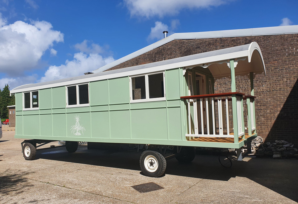 9m Canford 'Circus' Wagon with balcony