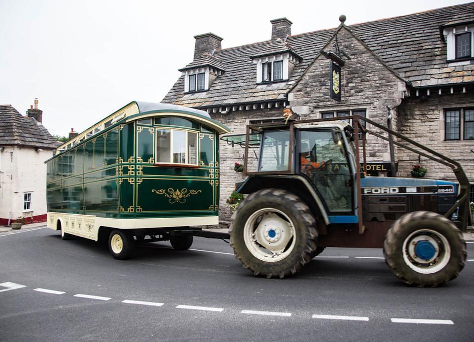 Greenlands Wagon en route Dorset