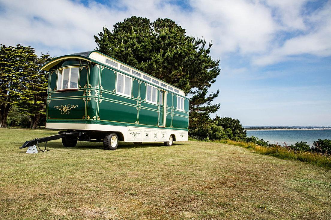 brand new showmans wagon