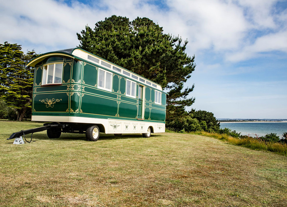 Greenlands Wagon on site