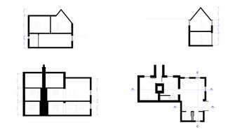 Proposed two-storey extension sectionsq