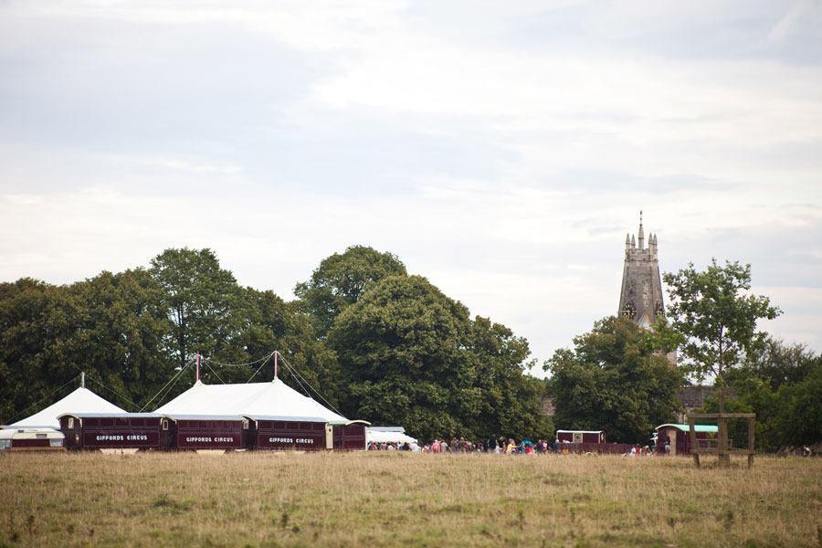 Gifford's Circus onMinchinhampton Common