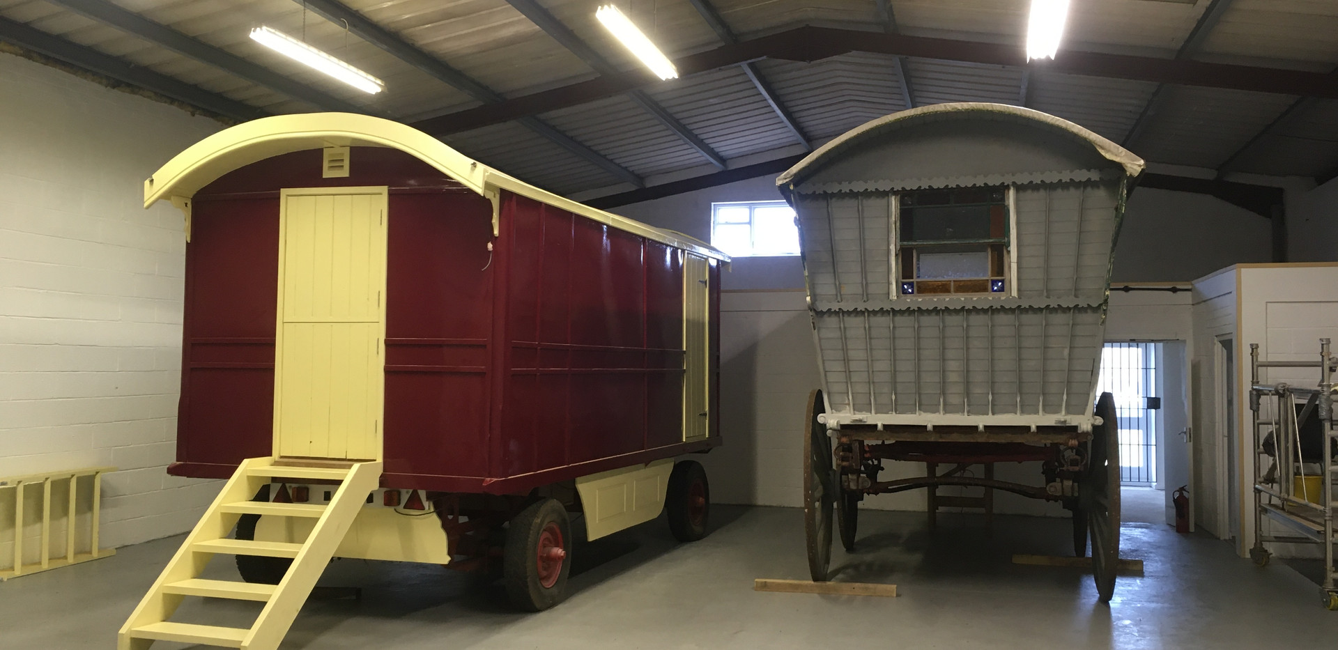 next to our little ex-Gifford's Wagon in the workshop