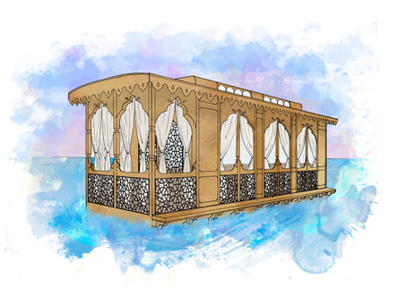 Our Latest Project: Kashmiri Houseboat Design