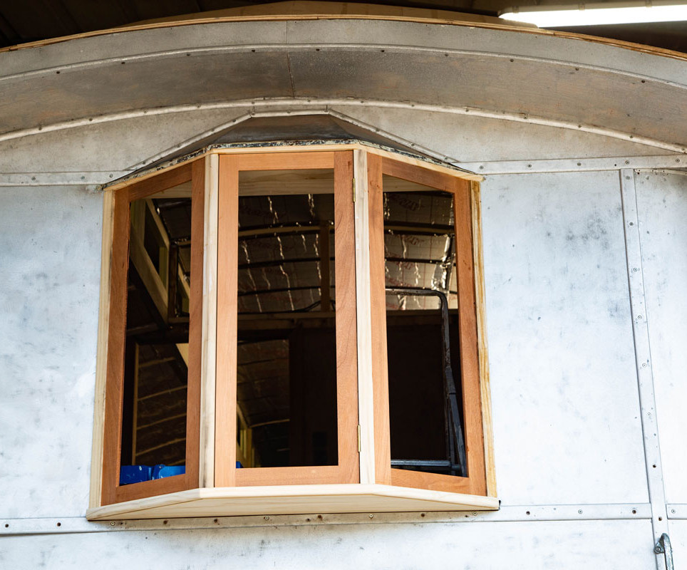 New bay window