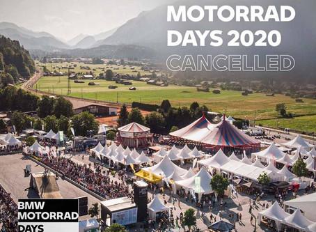 Otkazan BMW Motorrad Days 2020