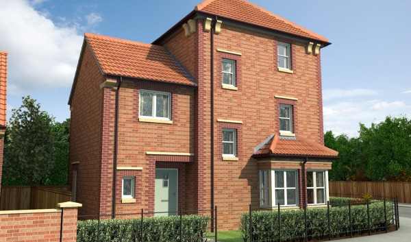 The Gilling by Bussey & Armstrong. Building New Homes in West Park, Darlington-1