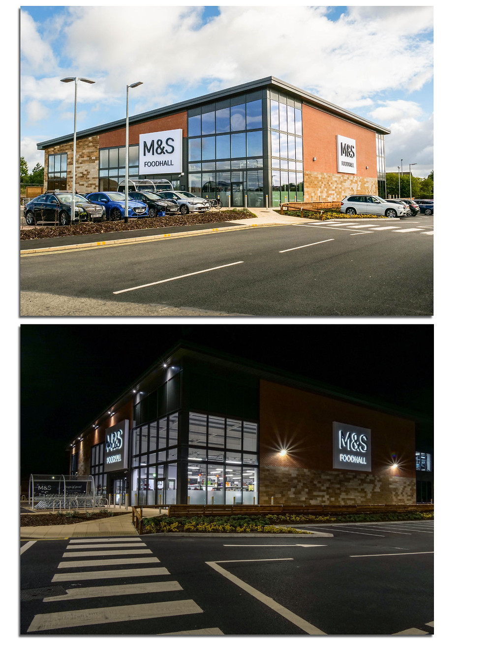 The brand new M&S store at West Park,  Darlington