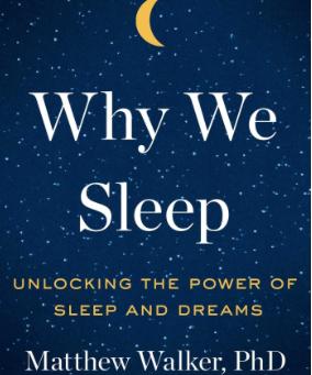 What I am reading: Sleep!