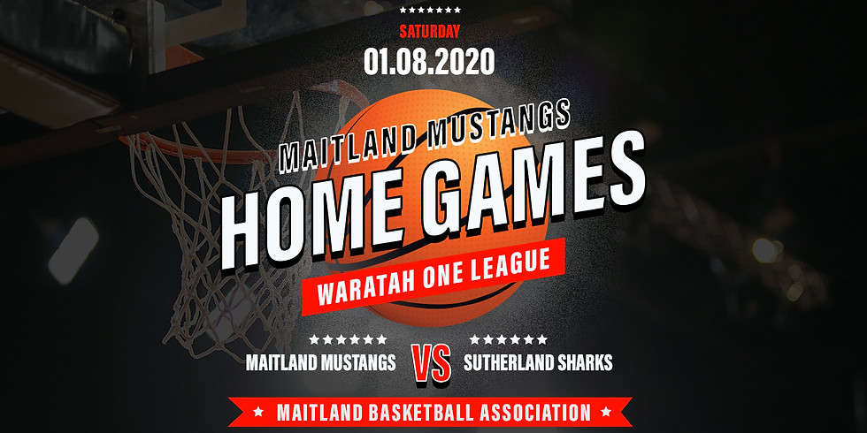 Home Game: Mustangs vs Sutherland Sharks